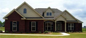 Traditional House Plan 78718 Elevation