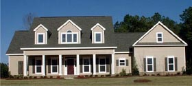 Country House Plan 78722 Elevation