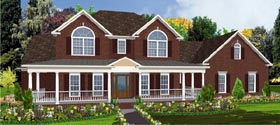 Traditional House Plan 78723 Elevation