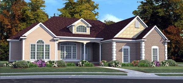 Cottage House Plan 78726 Elevation