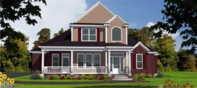 Country House Plan 78731 Elevation