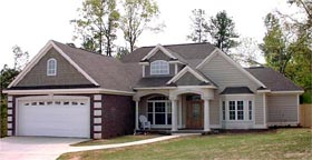 Traditional House Plan 78735 Elevation