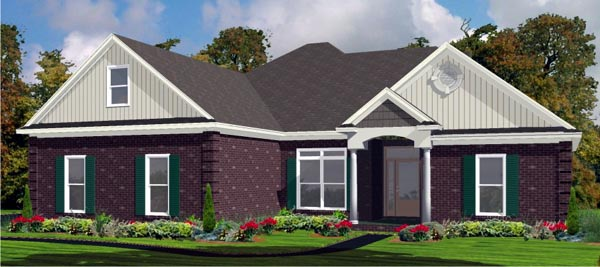 Contemporary House Plan 78740 Elevation