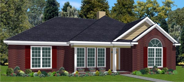 Traditional House Plan 78742 Elevation