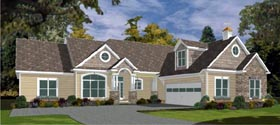 Craftsman House Plan 78753 Elevation