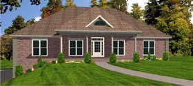 Country House Plan 78754 Elevation