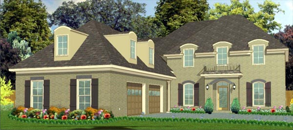 Contemporary House Plan 78756 Elevation