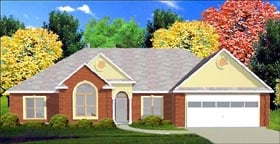 Traditional House Plan 78758 Elevation