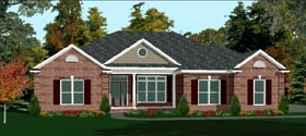 Contemporary House Plan 78762 Elevation