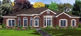 Contemporary House Plan 78768 Elevation