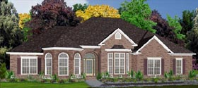 House Plan 78769 Elevation