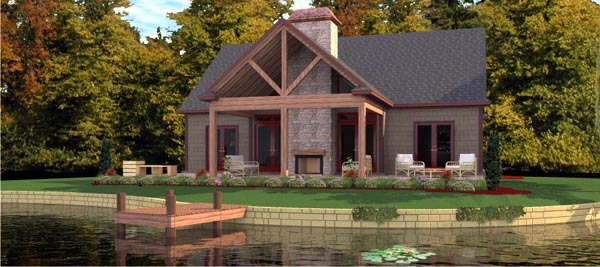 Bungalow House Plan 78776 Elevation