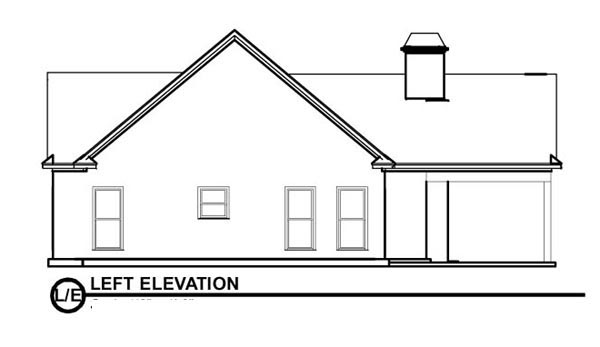 Bungalow House Plan 78776 with 2 Beds, 2 Baths Picture 1