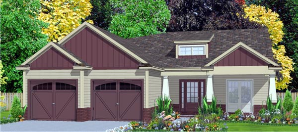 Craftsman House Plan 78784 Elevation