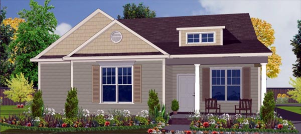 Craftsman House Plan 78786 Elevation