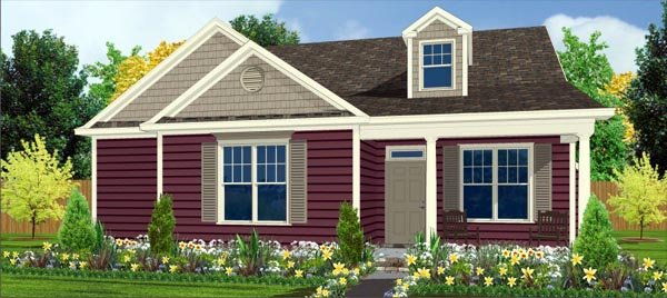 Craftsman House Plan 78787 with 3 Beds, 3 Baths, 2 Car Garage Elevation