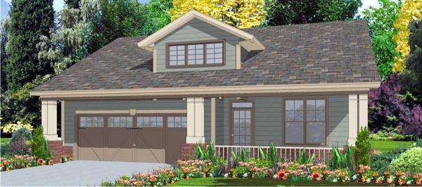 Craftsman House Plan 78789 Elevation