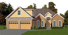 Traditional House Plan 78794 Elevation