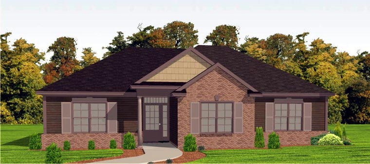 Craftsman House Plan 78802 Elevation