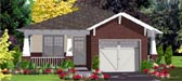 Plan Number 78806 - 1389 Square Feet