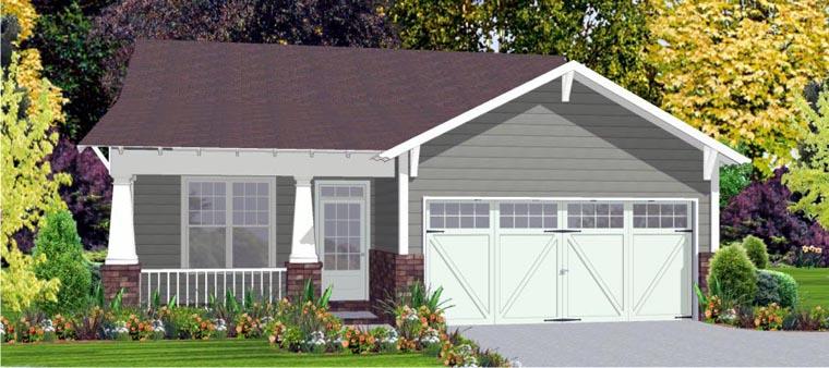 Craftsman House Plan 78811 Elevation