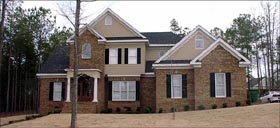 Traditional House Plan 78814 with 4 Beds, 5 Baths, 2 Car Garage Elevation