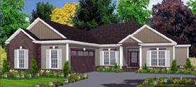 Contemporary House Plan 78815 Elevation