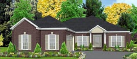 Contemporary House Plan 78816 Elevation