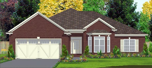 Contemporary House Plan 78817 Elevation