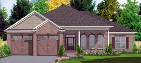Contemporary House Plan 78818 Elevation