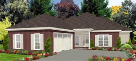 Traditional House Plan 78823 Elevation