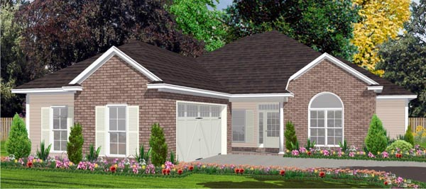 Traditional House Plan 78824 Elevation