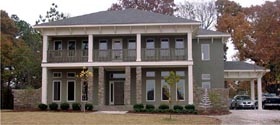 European , Plantation House Plan 78830 with 4 Beds, 5 Baths, 1 Car Garage Elevation