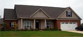 House Plan 78832 | Country Style House Plan with 2481 Sq Ft, 4 Bed, 4 Bath, 2 Car Garage Elevation
