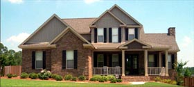 House Plan 78836 | Farmhouse Style House Plan with 2606 Sq Ft, 4 Bed, 3 Bath, 2 Car Garage Elevation