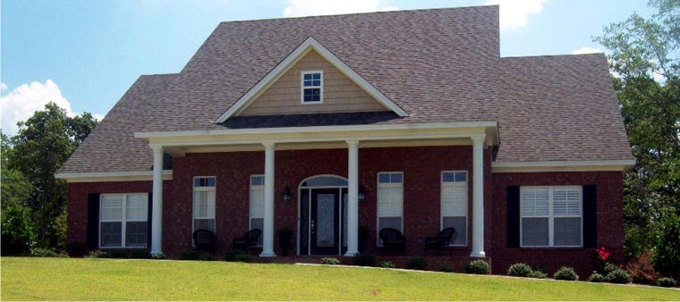Country House Plan 78842 Elevation