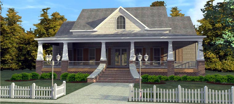 Country House Plan 78848 Elevation