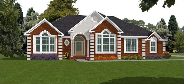 Traditional House Plan 78849 Elevation