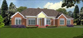 Traditional House Plan 78854 Elevation