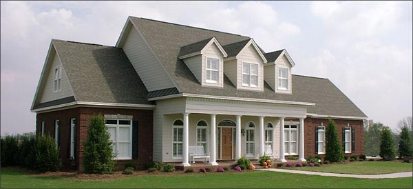 Cape Cod House Plan 78856 with 4 Beds, 5 Baths, 2 Car Garage Elevation