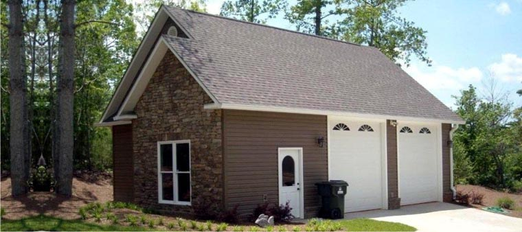Farmhouse Garage Plan 78859 Elevation
