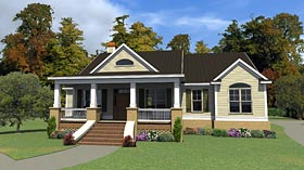 Country Traditional House Plan 78865 Elevation