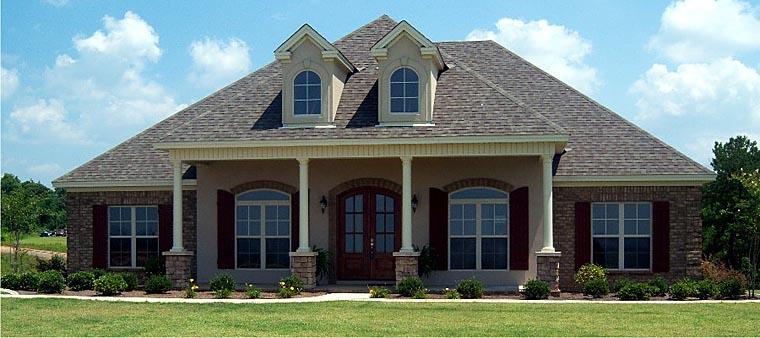 Colonial European House Plan 78873 Elevation