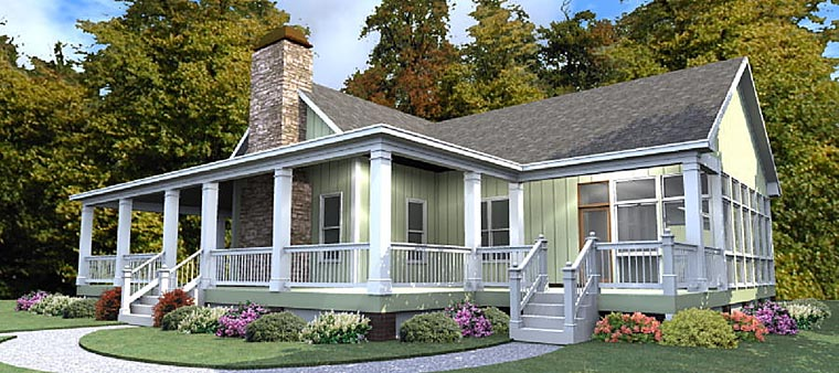 Country Traditional House Plan 78881 Elevation