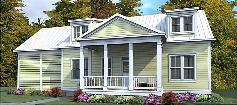 Cape Cod Colonial Country House Plan 78890 Elevation
