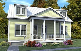 House Plan 78891 | Cape Cod Colonial Country Style Plan with 1686 Sq Ft, 3 Bedrooms, 3 Bathrooms, 2 Car Garage Elevation