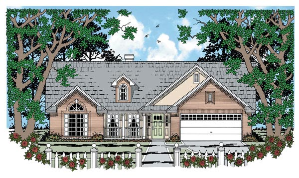 House Plan 79001