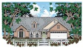 Plan Number 79003 - 1489 Square Feet