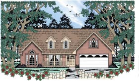 Country House Plan 79005 Elevation
