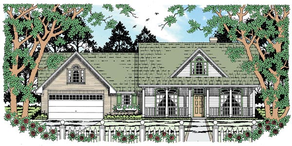 Country House Plan 79012 Elevation